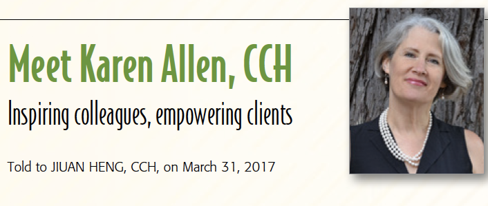 Karen Allen, CCH: in Homeopathy Today