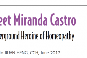 Miranda Castro: in Homeopathy Today
