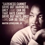 Martin Luther King Jr: from anger and shock to love